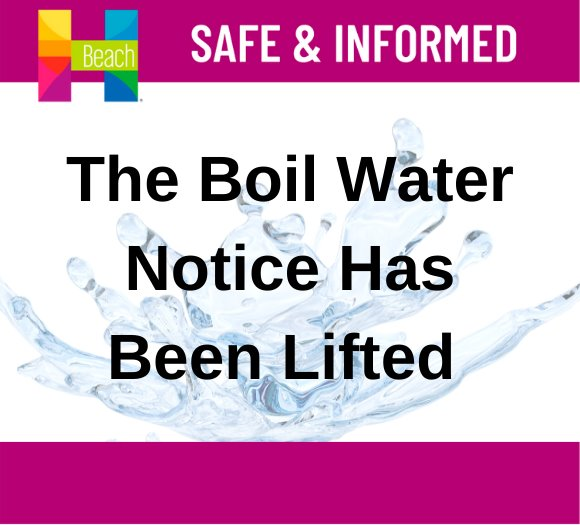 The Boil Water Notice has been lifted