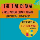 Climate Change Workshop on Aug 4