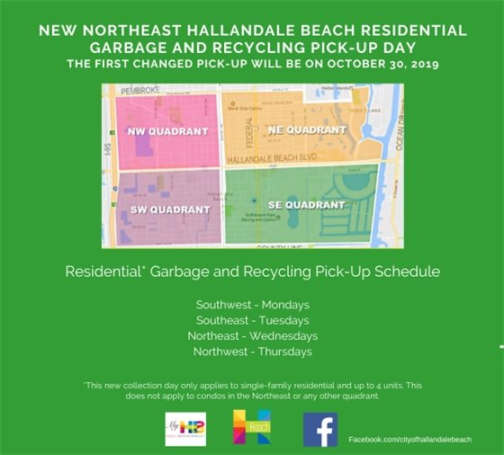 Northeast Trash Day Changing from Fridays to Wednesdays
