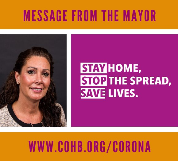 Message from Mayor Cooper