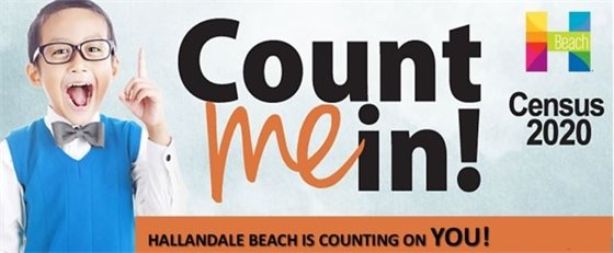 Hallandale Beach Is Counting On You!