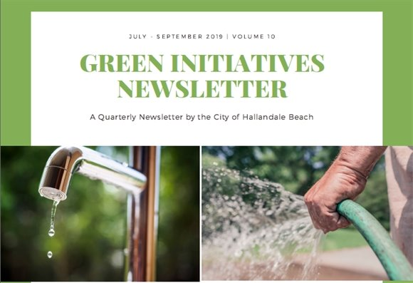 Green Initiatives Newsletter - Volume 10
