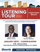 Shevrin Jones Listening Tour with Vice Mayor Javellana