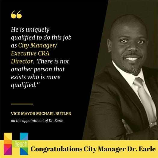 Congrats Dr Earle