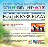 Community Unity May Day Festival