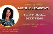 Commissioner Lazarow's Town Hall Meeting