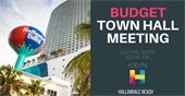 Hallandale Beach Budget Town Hall Meeting