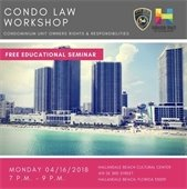 Condo Law Workshop
