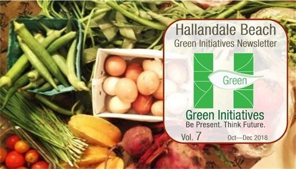 Green Initiatives Newsletter - Volume 7