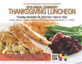 Thanksgiving Community Luncheon Event