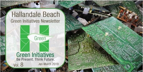 Green Initiatives Newsletter - Volume 8