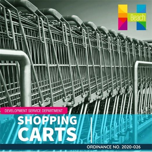 Shopping Carts - Pursuant to Ordinance No. 2020-026
