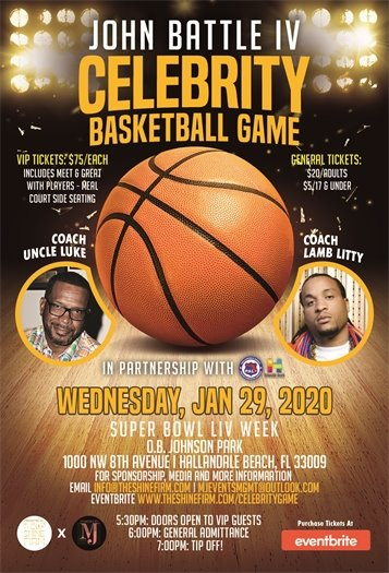 Celebrity bball game