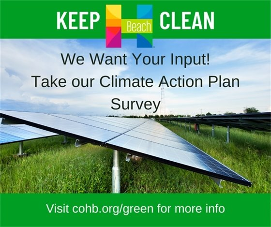 Climate Action Plan Survey