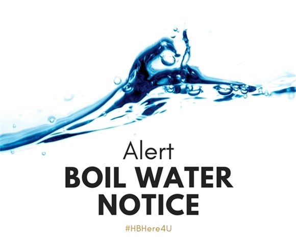 Boil Water Notice has been issued