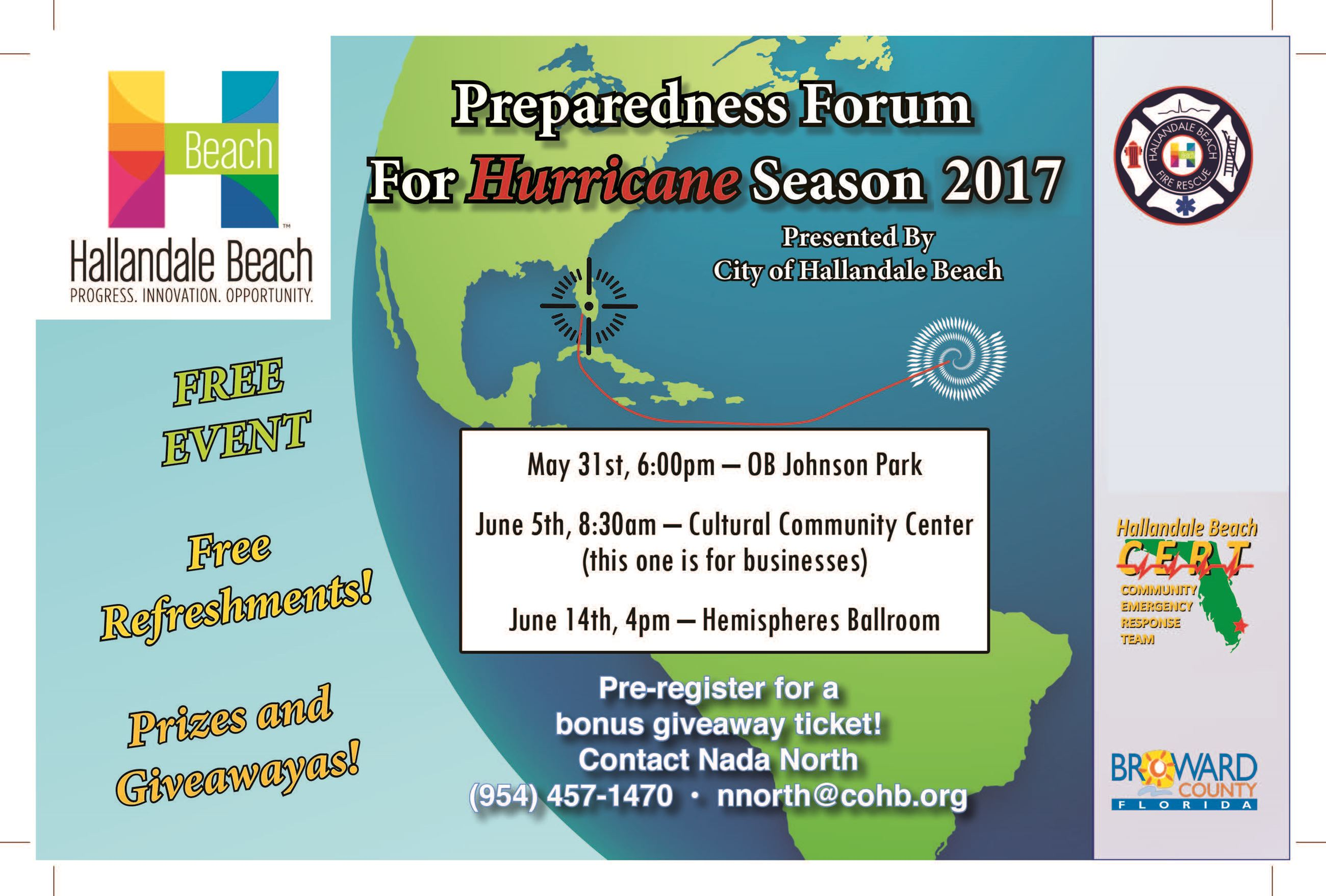 Hallandale Beach 2017 Hurricane Forum-English