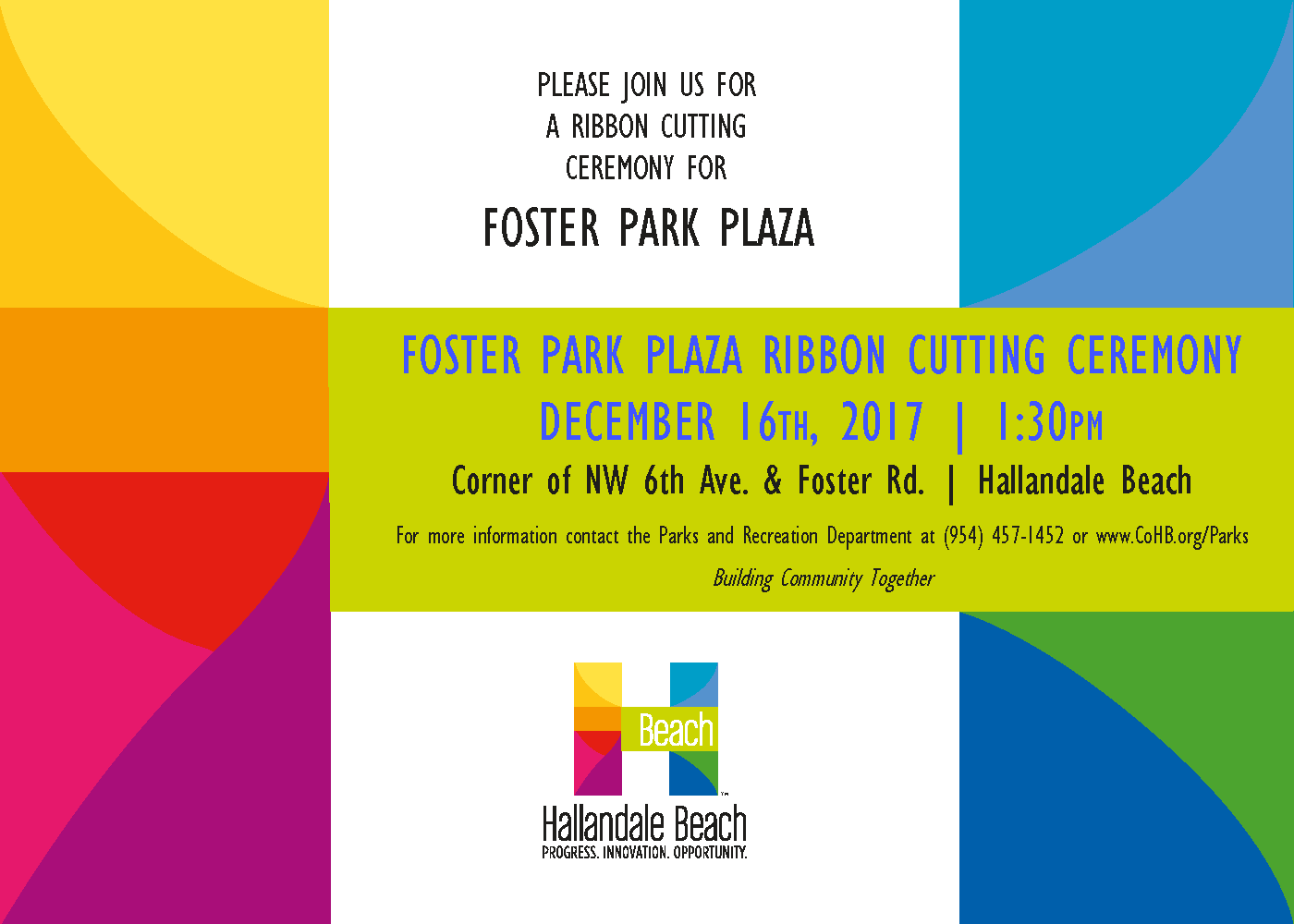 Foster Plaza RC 2017