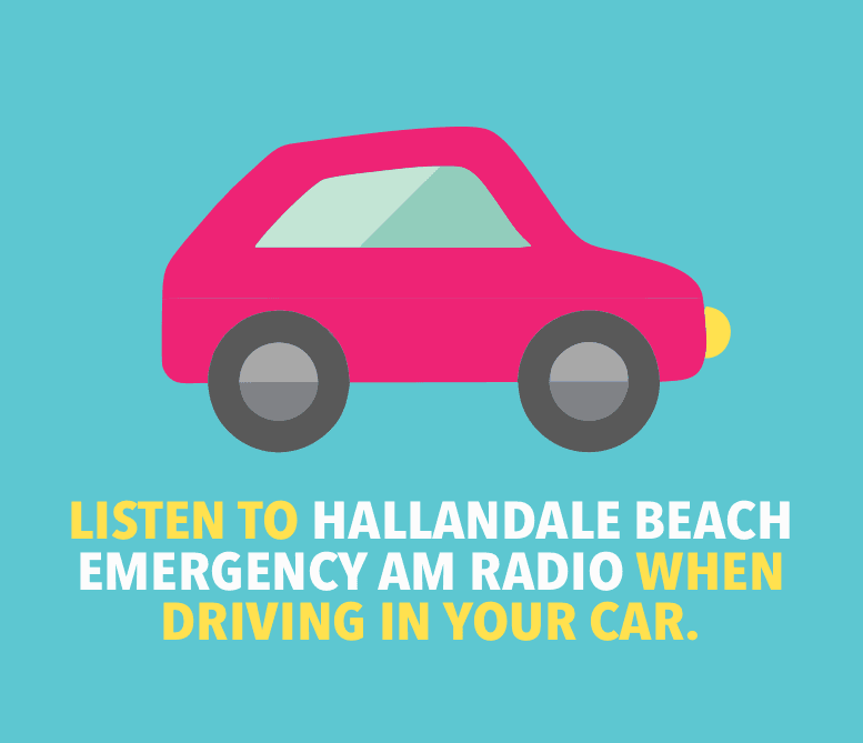 Listen to Hallandale Beach Emergency AM Radio when driving in your car.