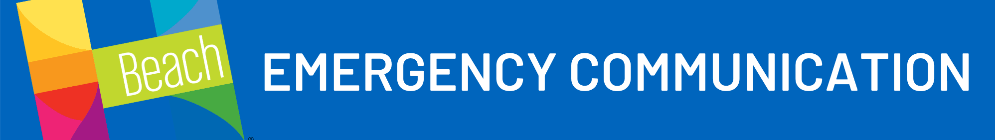 Emergency Communications Web Header