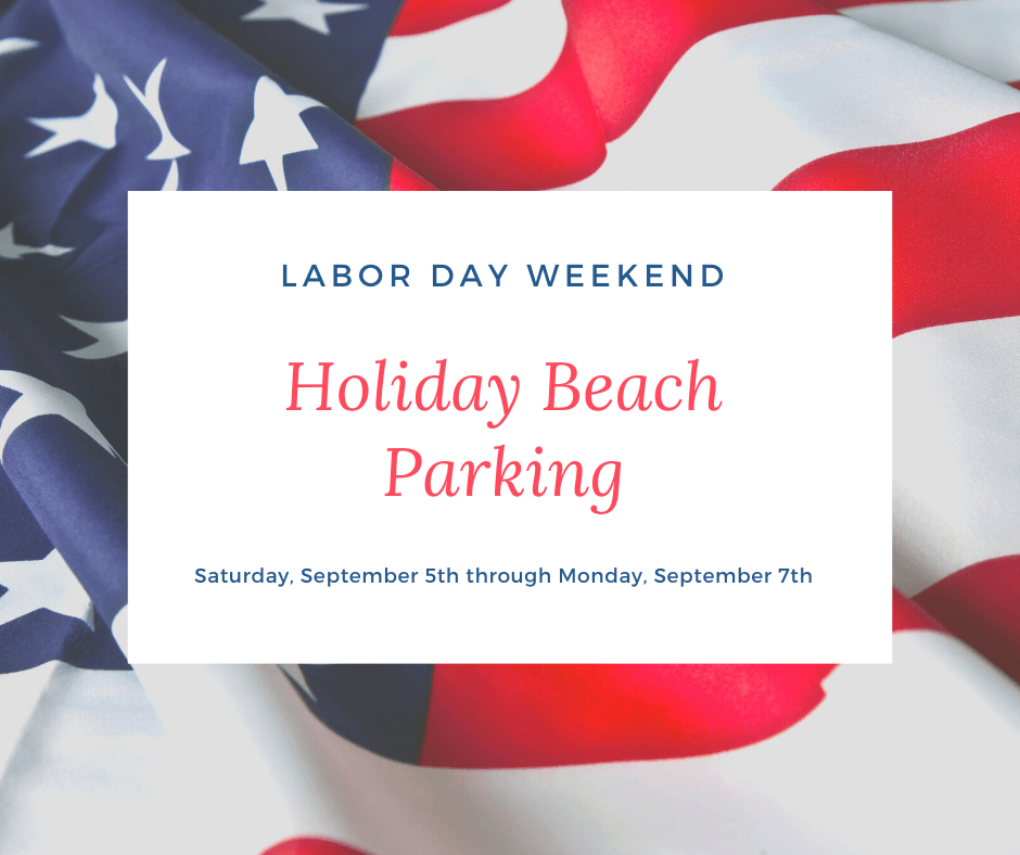 Holiday Beach Parking - Labor Day 2020