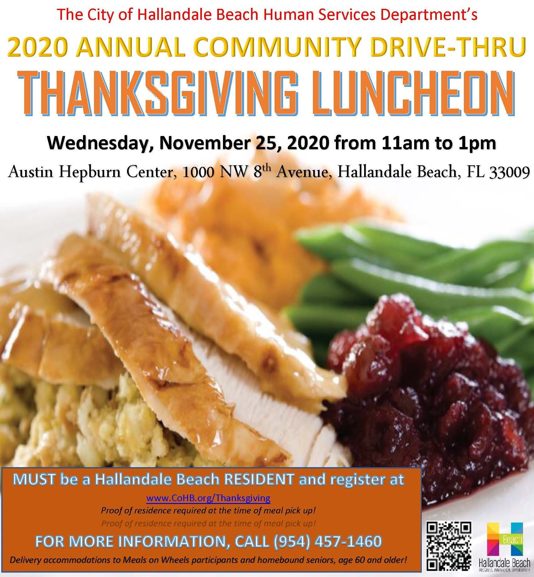 2020 Thanksgiving Luncheon Program