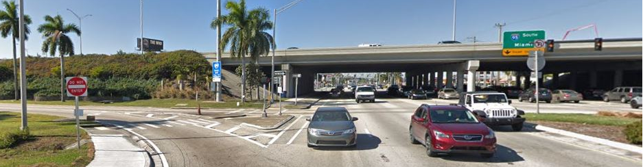 Image of SR 858/Hallandale Beach Boulevard Street View.