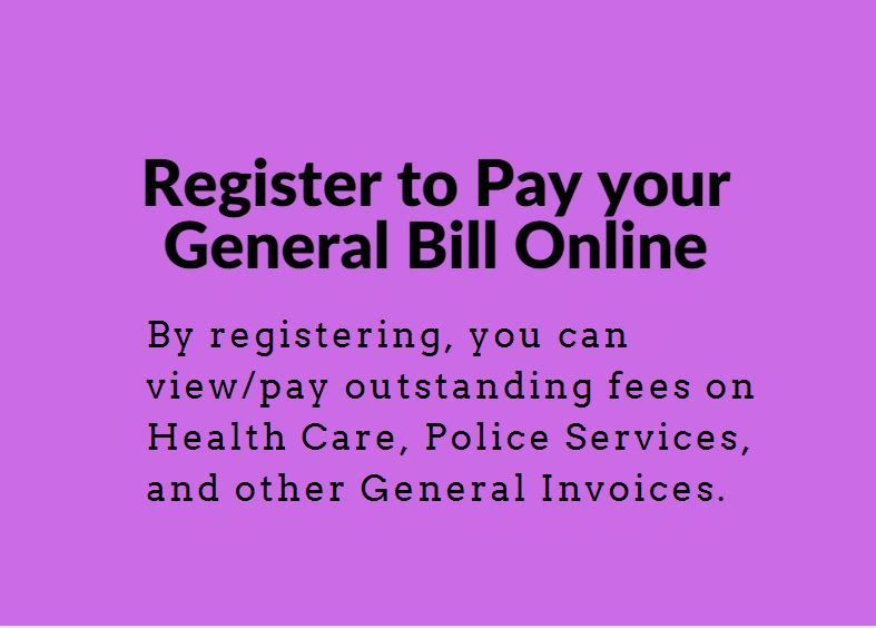 Register for General Billing