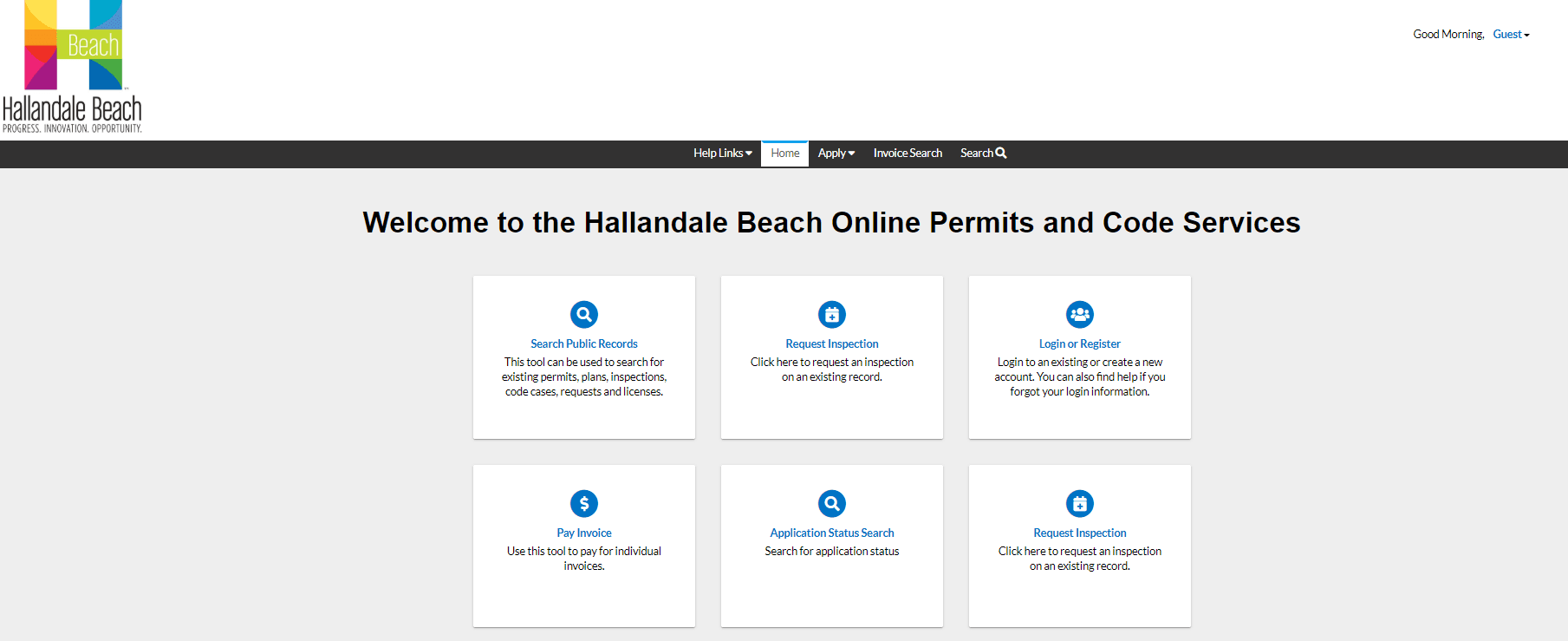 Step 1 How to Register and Log into HB-ePermitting Portal