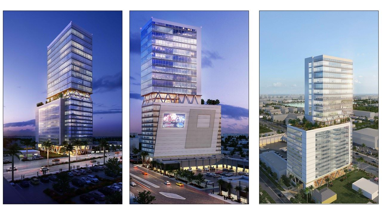 V-Tower - 633 West Hallandale Beach Blvd.