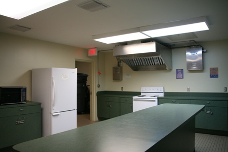 Bluesten Park Building Kitchen